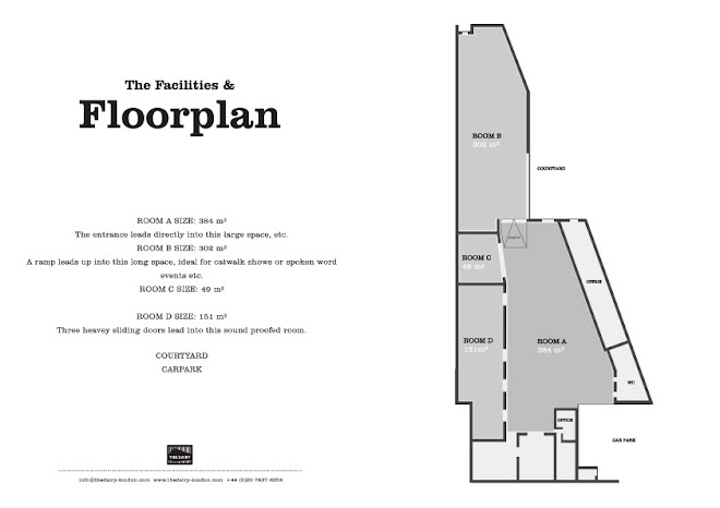 The Dairy :: Floorplan