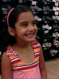 Minha netinha Paula