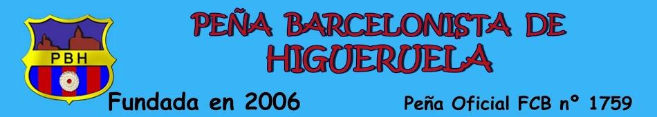 Peña Barcelonista de Higueruela