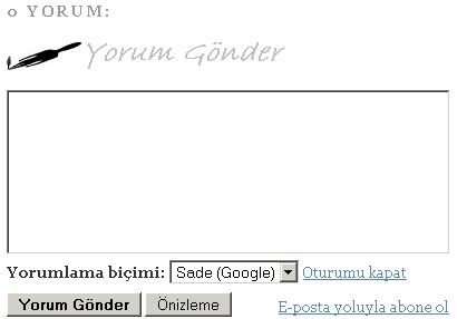 Yorum-gönder
