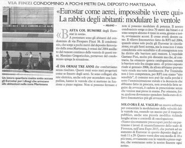 Il GIORNO (15/12/08)