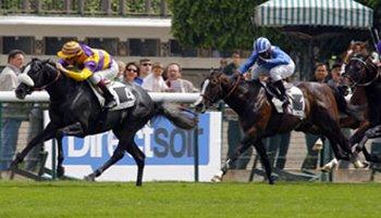 Festa francesa em Longchamp