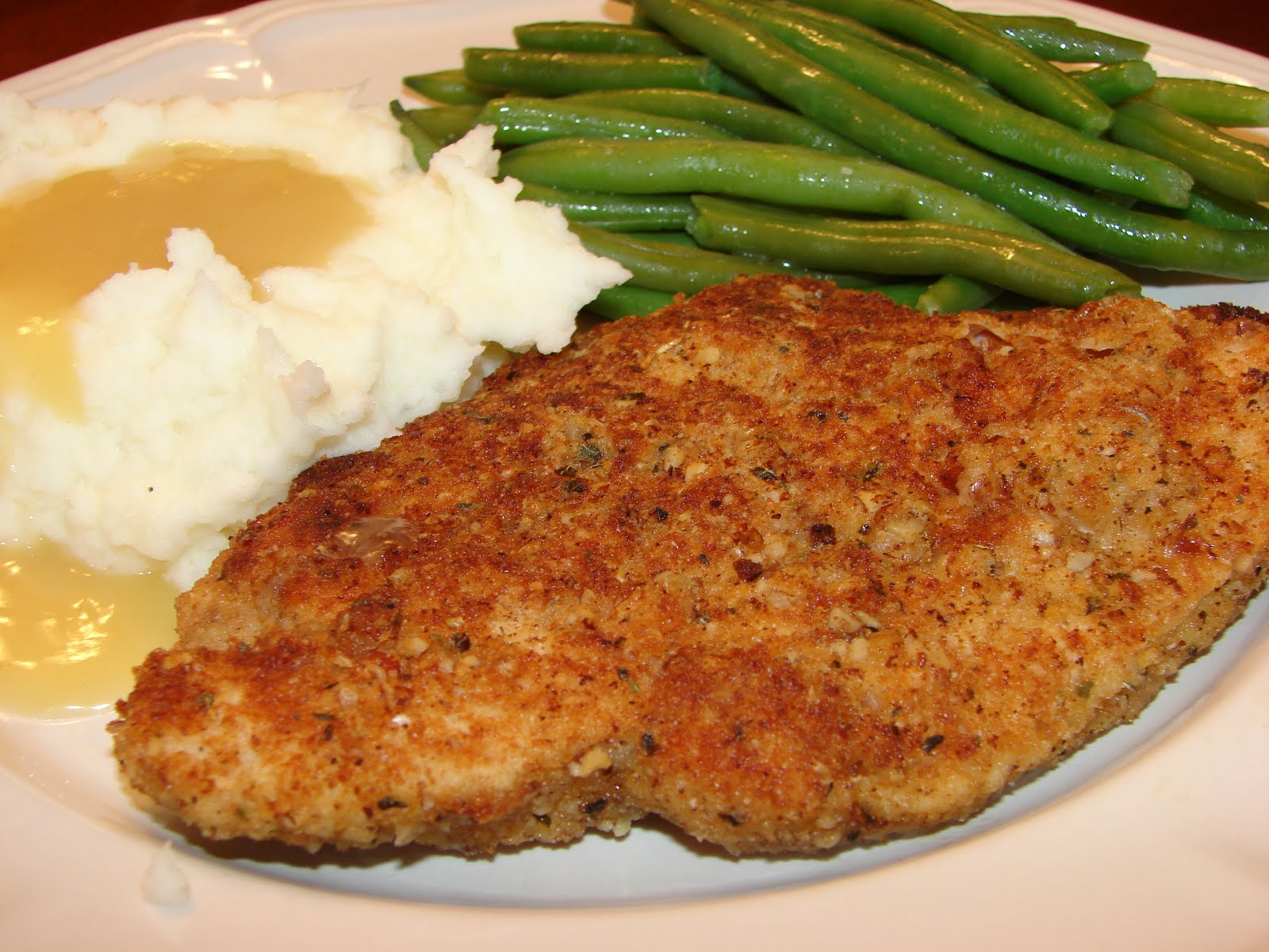 Pecan Parmesan Crusted Chicken