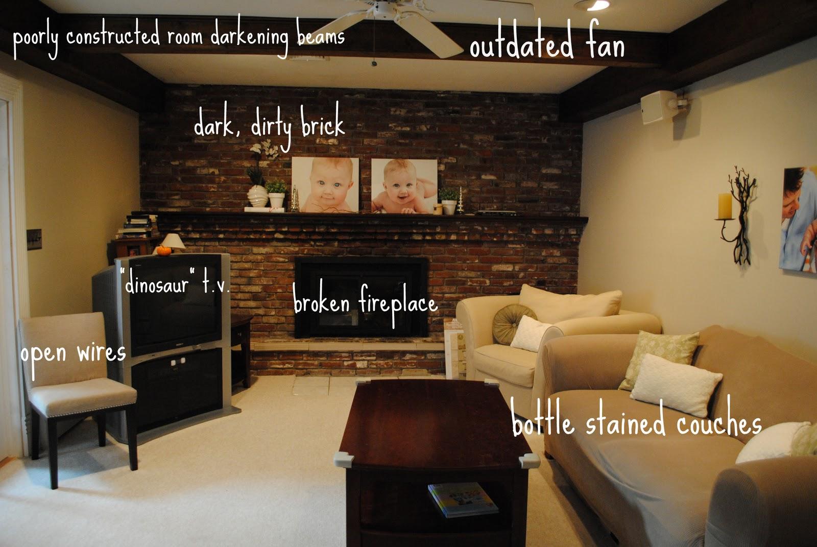No Furniture Living Room Living Room Renovation Part One The Problem Making Lemonade