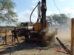 A perfuração de um poço na caatinga