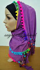 Shawl bubble rainbow :)