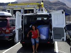 Rumbo Tenerife a entregar las tapas