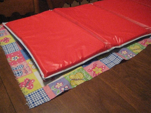 how to make a nap mat easy