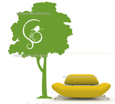 tree silhouette wall sticker. Large tree silhouette 39quot;W x