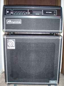 "Ampeg SVT-350 Bass Head and 15"" Bass Cabinet -"
