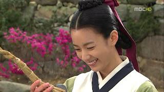 Hime no Sarange: All about Korean Drama: Sinopsis Dong Yi Episode 5