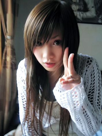 ulzzang hairstyle. cute girls with cool hairstyle