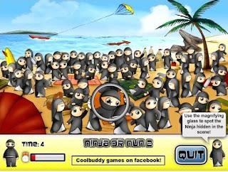 Juego Encuentra al Ninja Online