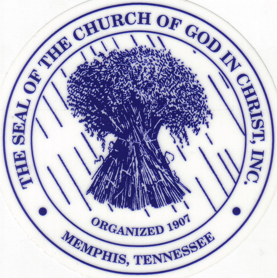 Church of God in Christ Bishop Seal http://bethelburnett.blogspot.com/2009/11/cogic-issues-102nd-annual-holy.html
