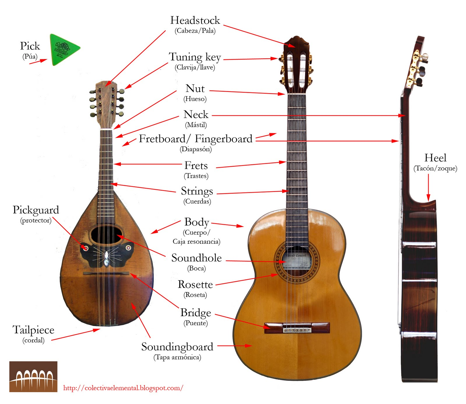 Mandolin Parts Gallery