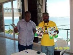 Coordenador da Bienal  Afrobrasileira do Livro (Refavela)