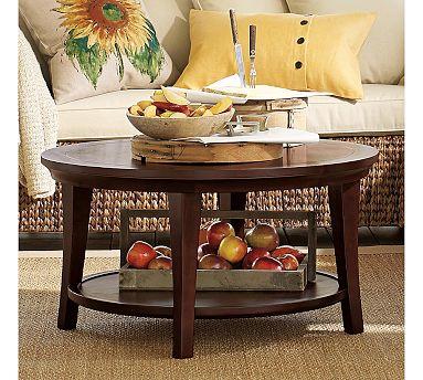 Metropolitan Round Coffee Table - Pb coffee table