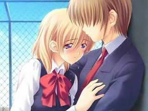 cute anime couples kiss. Anime Couple Kissing