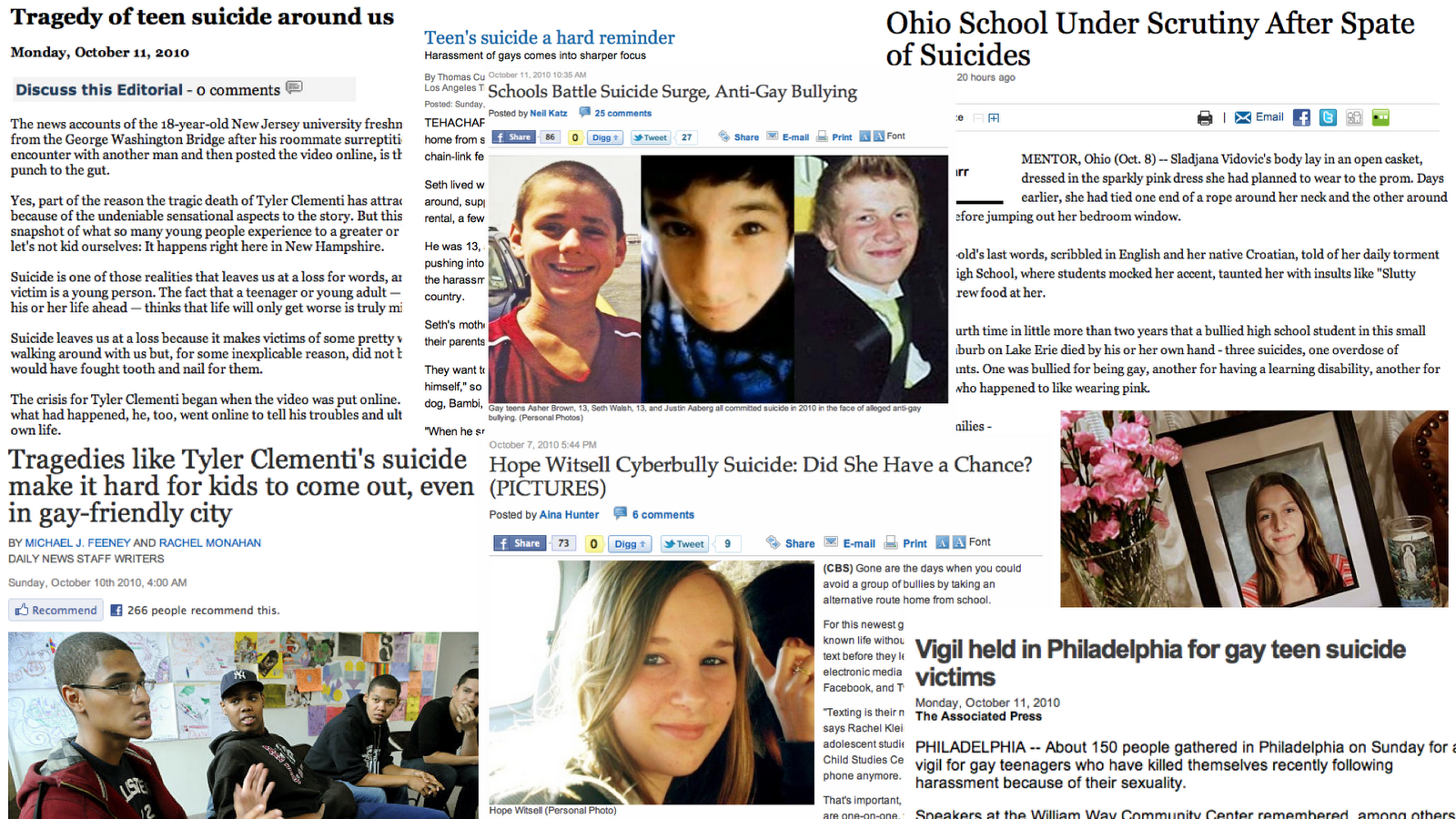 Suicide+Collage.004 Kin outraged, distraught over teen's cyber suicide