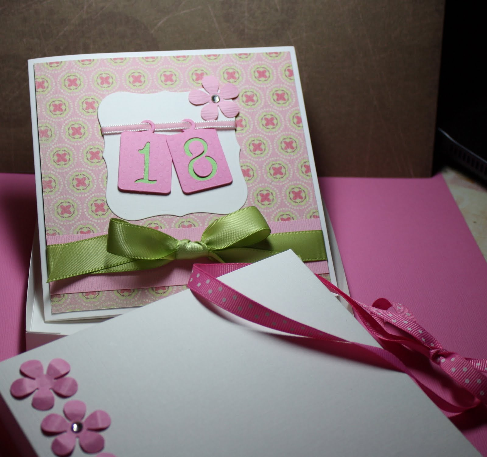 Stamps And Paw Prints: Happy 18th Jessica