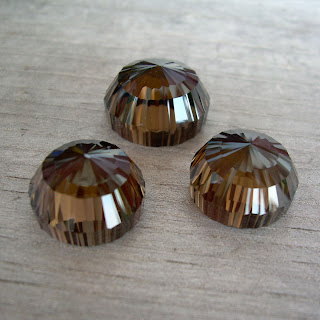 smoky quartz cabochon