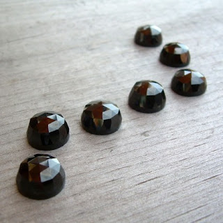 melanite garnet cabochon
