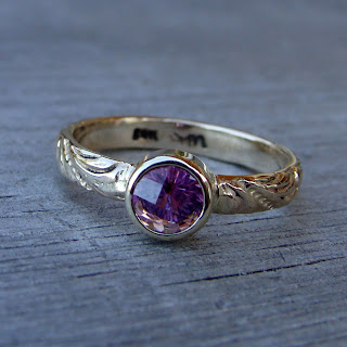pink tourmaline ring
