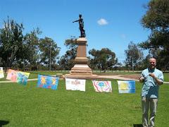 William Light, monument, Adelaide