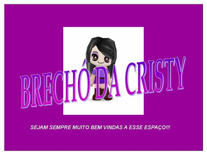 BRECHÓ DA CRISTY