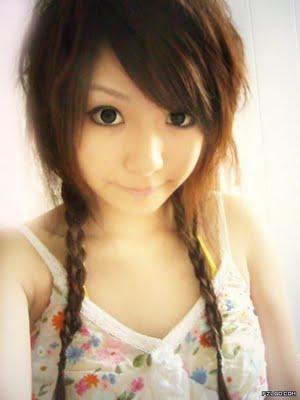 Asian Hairstyle Tutorial. Cute Asian.