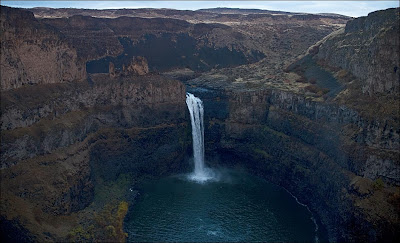 Palouse Falls viewed from the State Park overlook.