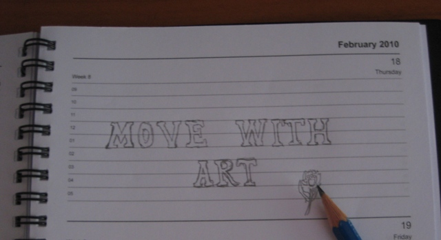 Move with art...