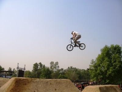 flying space bike