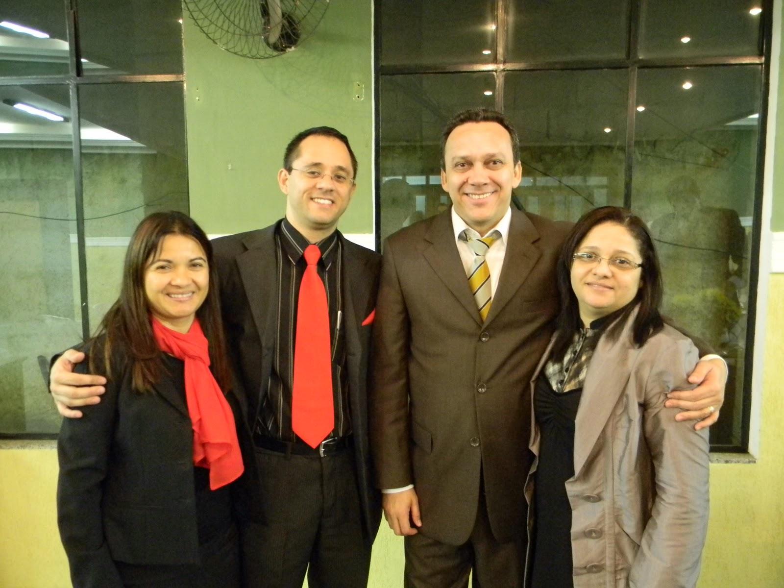 Ele com sua esposa irmã Lúcia e o Pr. Carvalho Júniro e Esposa #B83813 1600x1200