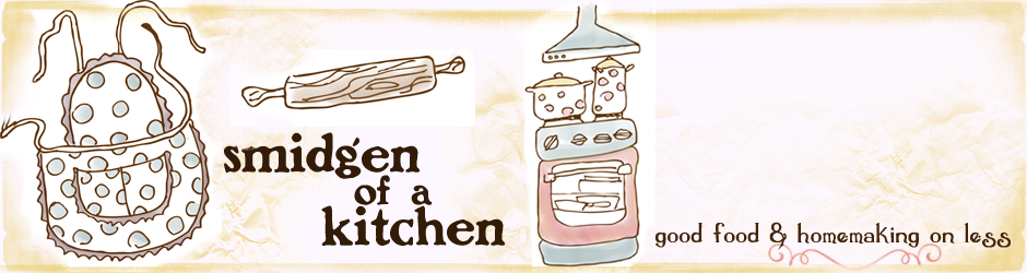 Smidgen of a Kitchen