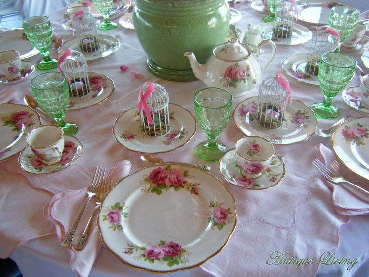 tea table settings tables - photo #22