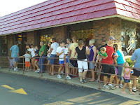 line for Blizzards