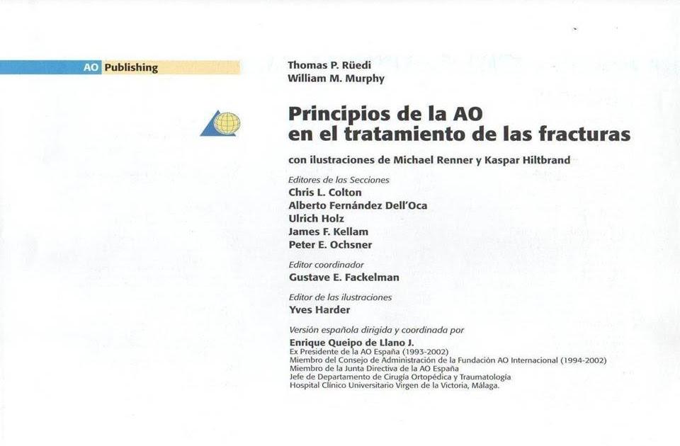 Med school 022 manual ao de ortopedia for W de porter ortopedia