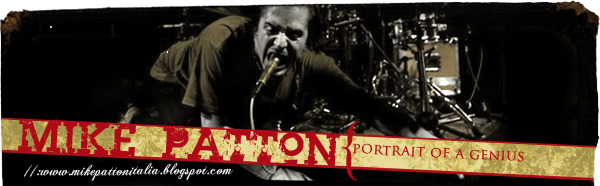 Mike Patton Italia