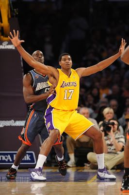 Los Angeles Lakers Star Andrew Bynum picture