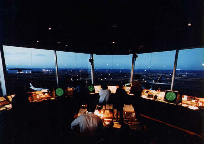 Air Traffic control room
