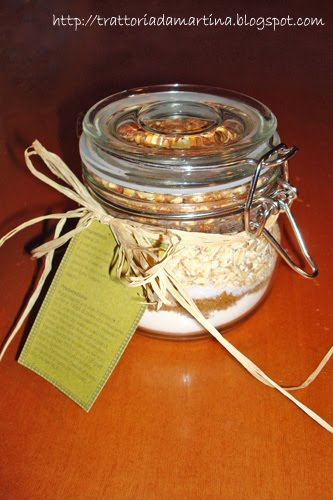 Biscotti in barattolo - cookie in a jar