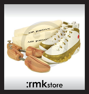 93b6bad56fd ... where can i buy nike air jordan 9 ix retro premio bin 23 white gold  410917