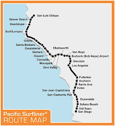 reviews of Amtrak Pacific Surfliner