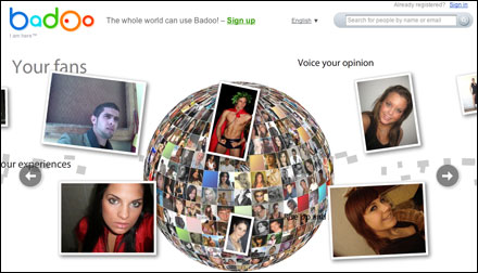 Badoo Login at www.Badoo.com