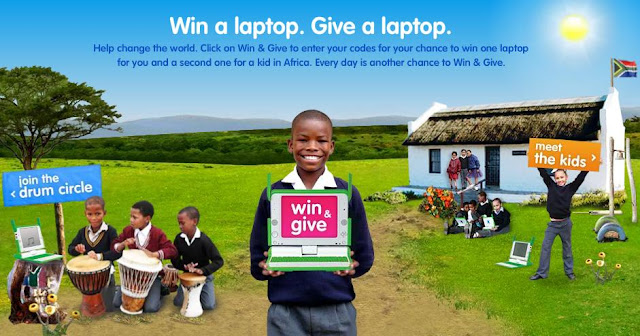 Winonegiveone.com - win one give one laptop sweepstakes code