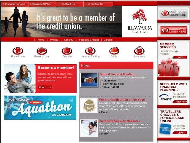 Illawarra Credit Union Internet Banking - www.illawarracu.com.au
