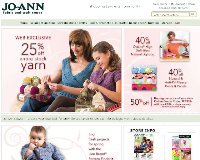 How to find Jobs at JoAnn Fabrics Online using Joann.com?