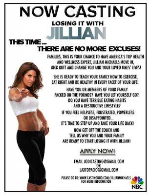 Losing It with Jillian Michaels Casting