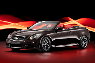 Infiniti IPL G Convertible Concept for 2011 Unveiled